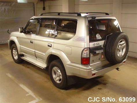 auto air conditioning service 2000 toyota land cruiser electronic throttle control 2000 toyota land cruiser prado silver for sale stock no 63099 japanese used cars exporter