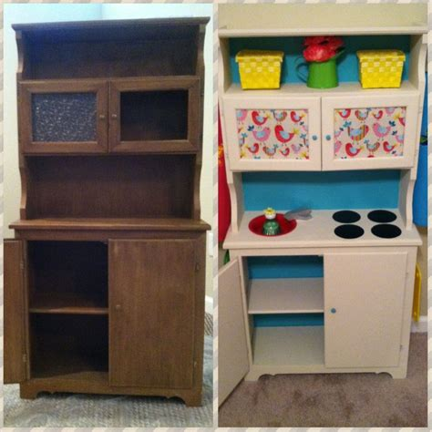 34 Best Images About Repurposing Furniture For Kids On Pretend Kitchen Furniture