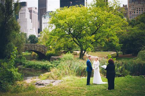 Gapstow Bridge Elopement   Heiraten im Central Park