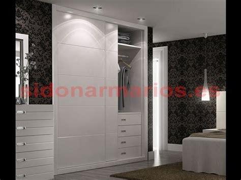 armario melamina blanco frente de armario melamina blanco liso t5 sidonarmarios