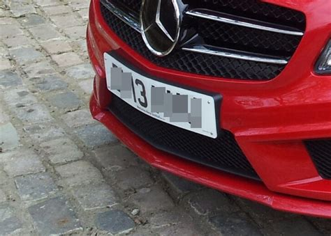 mercedes number plate holder number plate holders mercedes a class forum