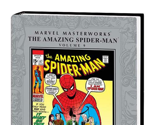 marvel masterworks the amazing spider volume 1 new printing marvel masterworks the amazing spider vol 9