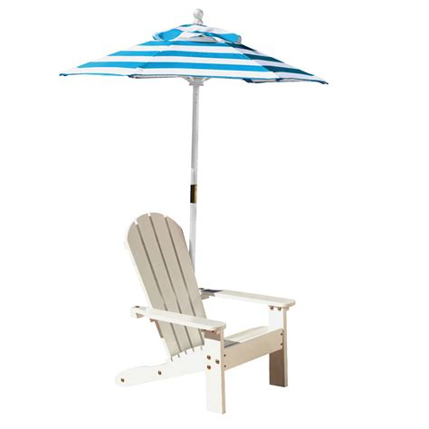 adirondack chair and table set with umbrella kidkraft white adirondack chair with turquoise 547 pirum