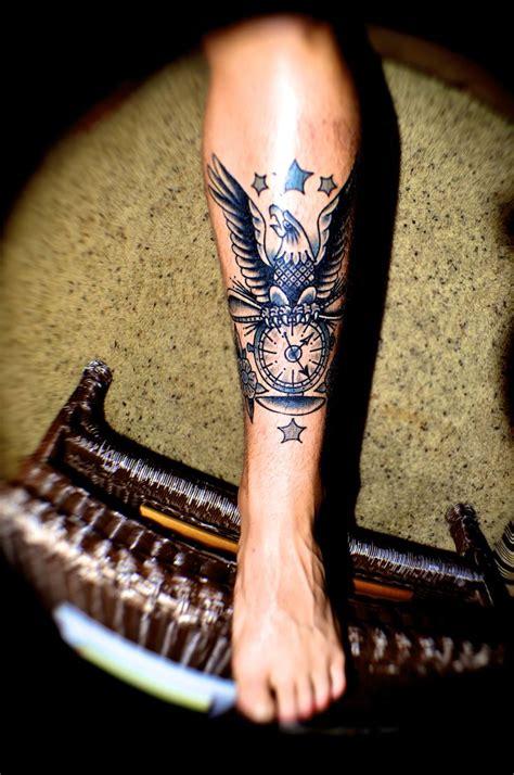 tattoo by drake sheehan american vintage tattoo orange