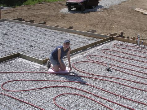 Heated Floors Installing Hydronic Radiant Floor Heating