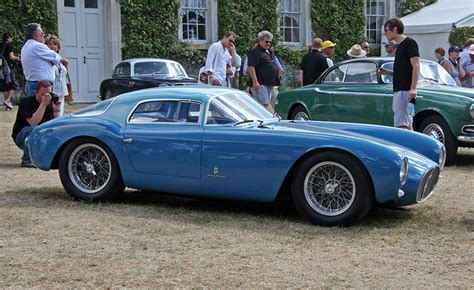 maserati light blue photos maserati 1953 a6 gcs berlinetta antique light blue side