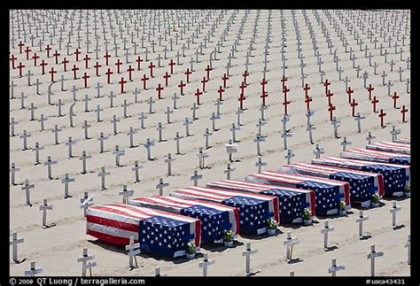 flag draped coffins picture photo flag draped coffins and crosses santa