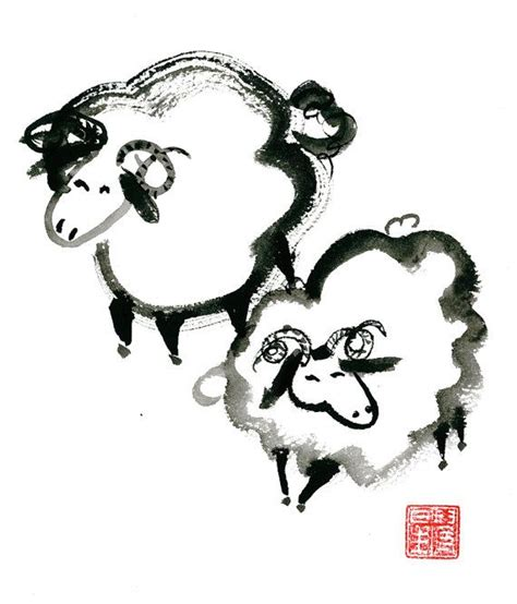 new year of the goat or sheep sheep new year of the sheep ram goat