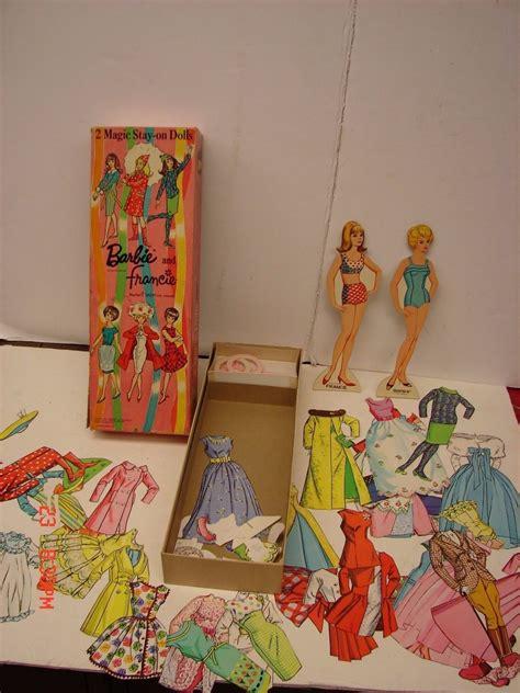 vintage whitman francie 1966 mattel magic dolls