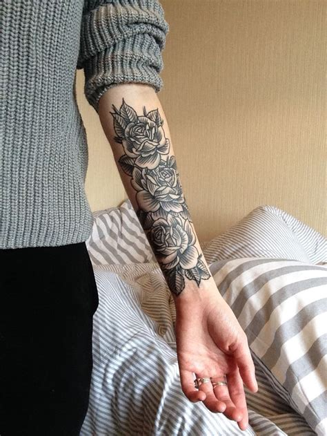 rose on arm tattoo forearm designs ideas and meaning tattoos