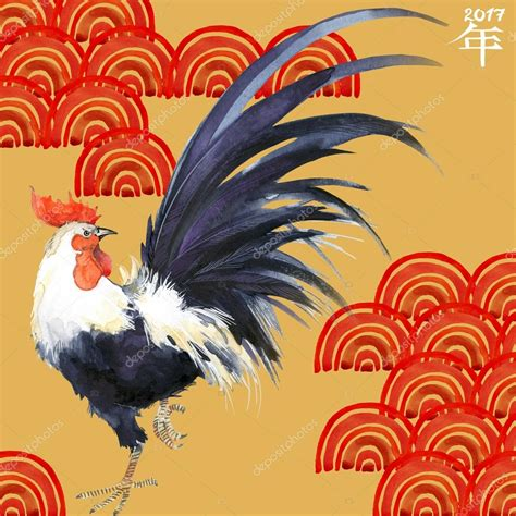 new year what does rooster coq 233 e du coq nouvel an chinois du coq illustration