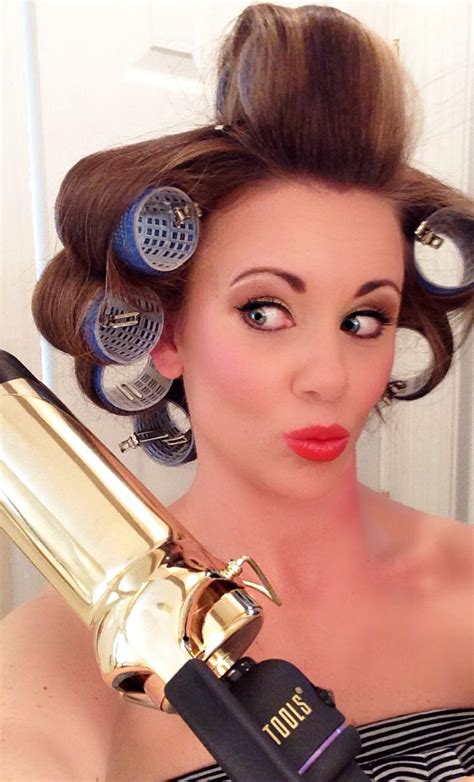 Wedding Hair With Rollers by 259 Best Images About Roller Sets Pin Curl Patterns On