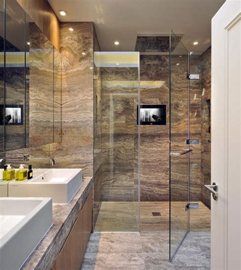 Appartments Bath by Marble Bathroom Glass Shower St Pancras Penthouse