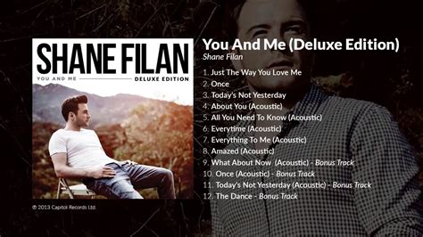 Shane Filan You And Me Deluxe by Shane Filan You And Me Deluxe Edition With Bonus