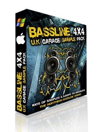 producer pack bassline 4x4 uk garage sle pack a new