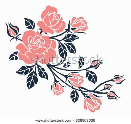 draw a pattern using flower as motif flower design sketch gallery s portfolio on shutterstock