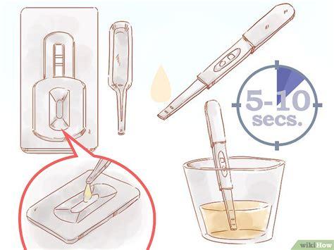 come usare un test di gravidanza come utilizzare il test di gravidanza 8 passaggi