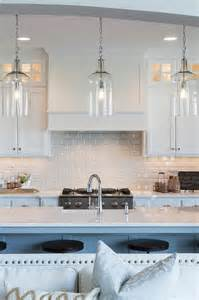 White Kitchen Island Lighting White Flat Front Kitchen Cabinets With Gray Marble Countertops Transitional Kitchen