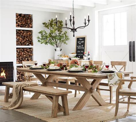 toscana extending dining table toscana extending dining table pottery barn