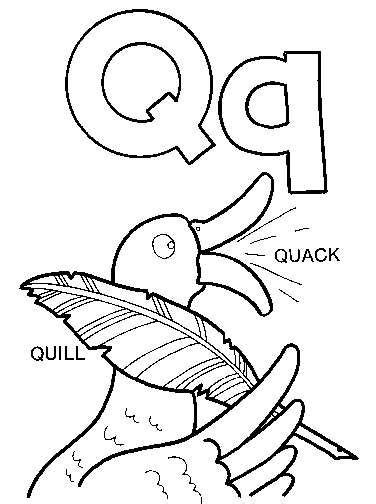preschool coloring pages letter q 11 best images of letter q coloring pages and worksheets