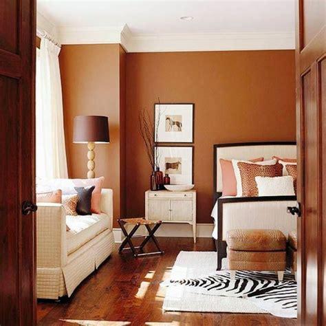 wall color brown tones warm  natural interior