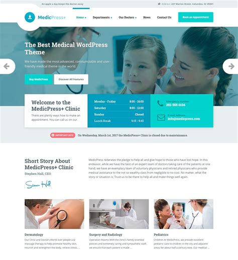 themes wordpress medical 17 best medical wordpress themes for doctors 2018
