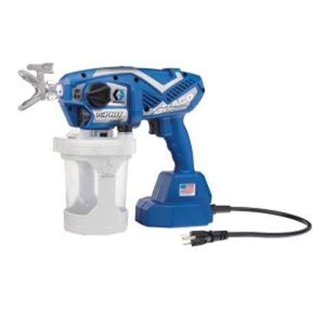 home depot airless paint sprayer reviews graco tc pro corded airless paint sprayer 17n163 the