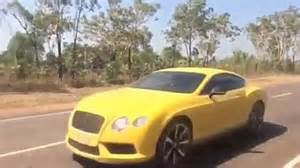 Top Gear Bentley Top Gear S Loaned Supercars After Australian Outback