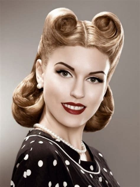 Frisuren 50er 60er by Hairstyles 50s 60s