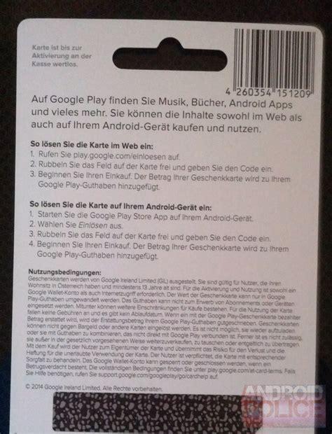 Android Market Gift Card - d 225 rkov 233 poukazy google play nově dostupn 233 tak 233 v rakousku