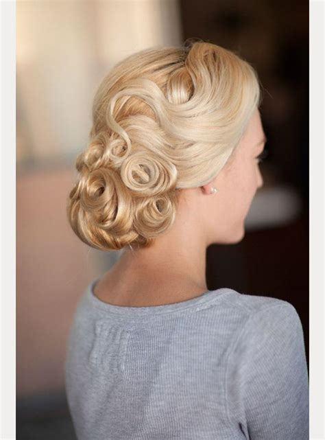 www hairstyle pin best 25 pin curl updo ideas on pinterest retro updo