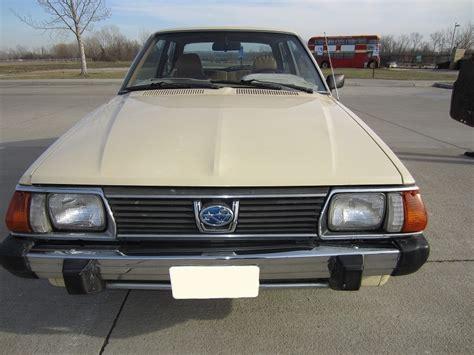 subaru wagon 1980 daily turismo 5k 1980 subaru dl hatchback 4wd