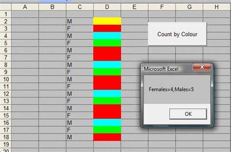 excel countif color excel countif cell color vba countif exclude based on