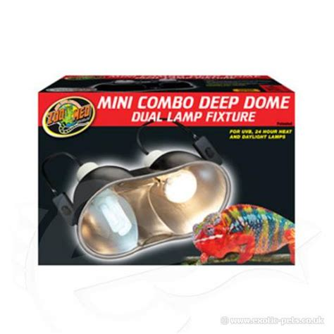 zoo med deep dome cl l zoo med deep dome combo 2 pack extra long reflector dome