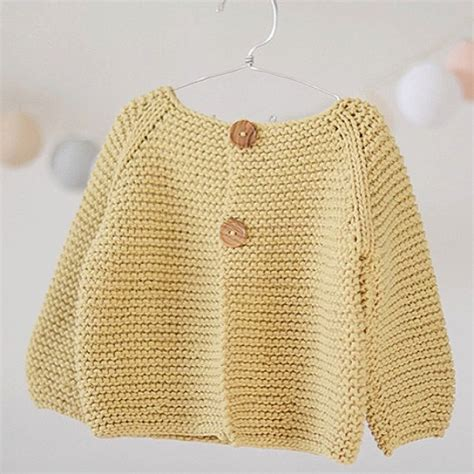 knit toddler sweater knitting pattern basic cardigan for children s and babies