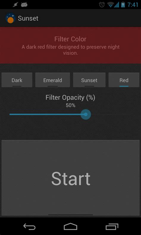screen filter apk sunset screen filter 1 25 apk android tools apps