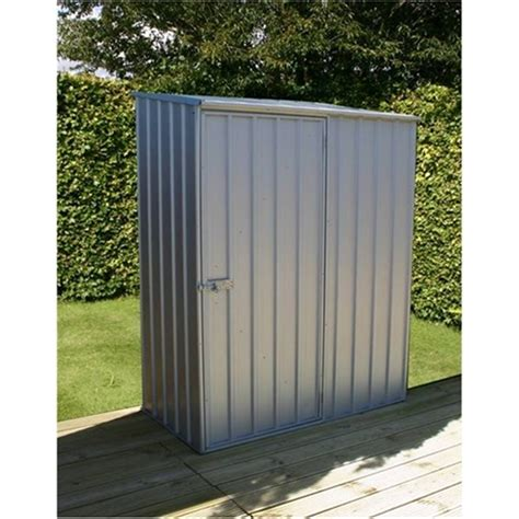 5 x 3 space saver zinc metal shed 1 52m x 0 78m free 24