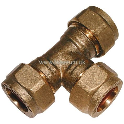 equal metric brass plumbing compression fitting