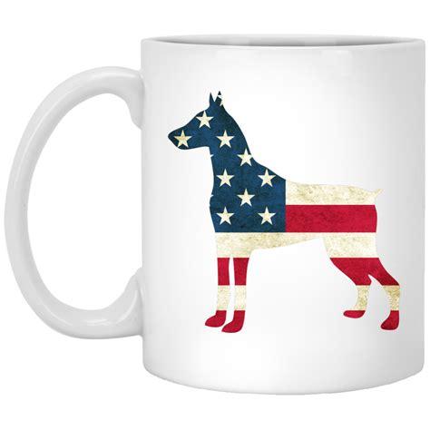 top pet gifts usa flag doberman mug top pet gifts