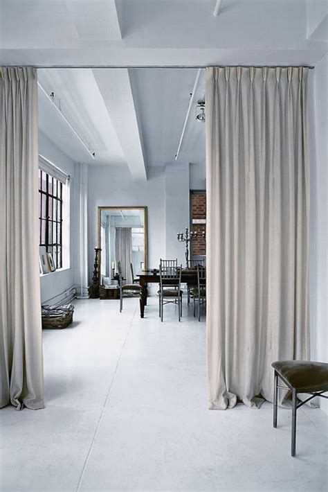 15 easy and amazing curtains room dividers house design