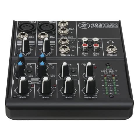 Mackie 402vlz4 Analog Mixer mackie 402vlz4 4 kanalig analog kompakt mixer p 229 gear4music