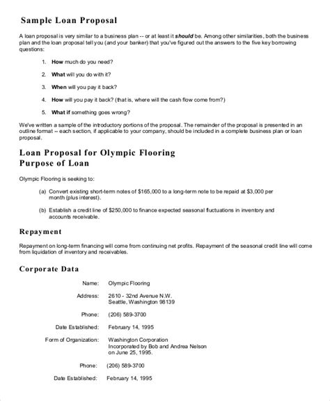 Sle Letter For A Small Business Loan Business Template 16 Free Sle Exle Format Free Premium Templates