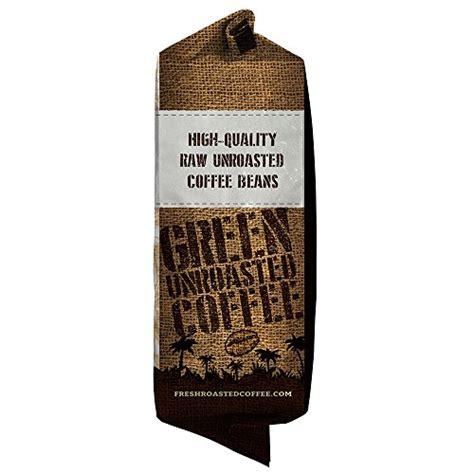 Green Unroasted Coffee, 5 Lb. Bag, Fresh Roasted Coffee