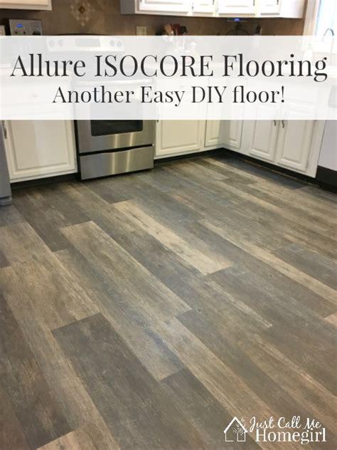 Allure ISOCORE DIY Flooring   Just Call Me Homegirl