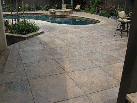 concrete patio estimate decorative sted concrete ma nh maine floors