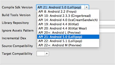 android build tools version android execution failed for task app compiledebugaidl aidl is missing stack overflow