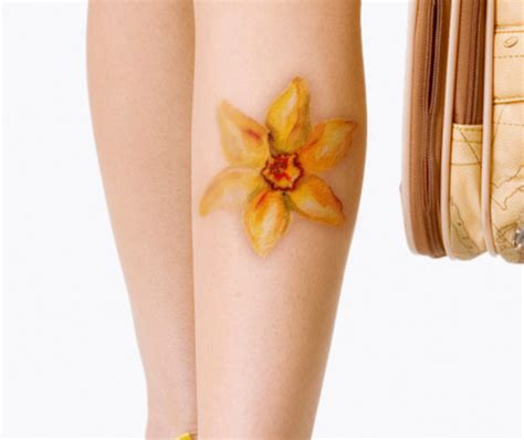 daffodil wrist tattoo 13 daffodil designs and their meanings