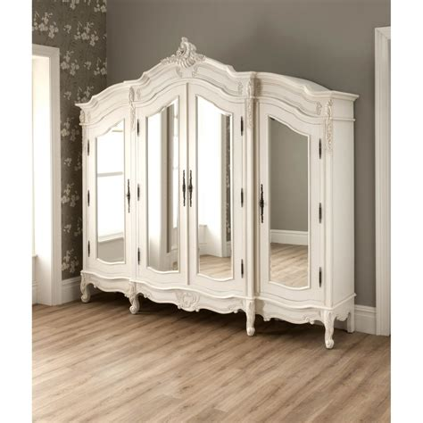 La Rochelle Antique French Wardrobe Rococo Furniture La Rochelle Bedroom Furniture