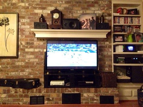 tv in front of fireplace diy tv stand jtsternbergdotcom