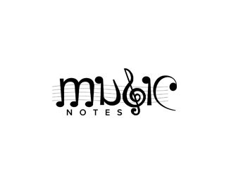 50 awesome music note logo designs designbeep